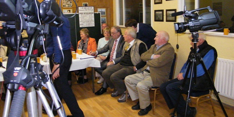 Recording Killeagh Community Hall