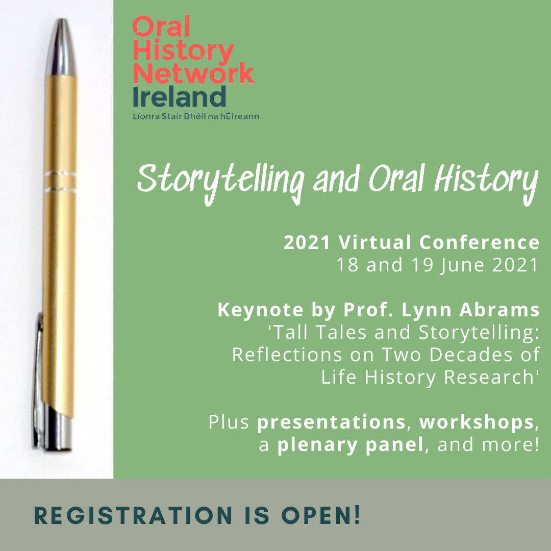 Storytelling and Oral History conference 2021